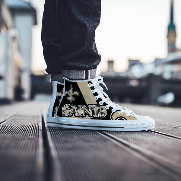 new orleans saints mens high top sneakers high top