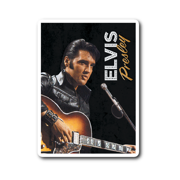 Elvis Presley Cool Sticker