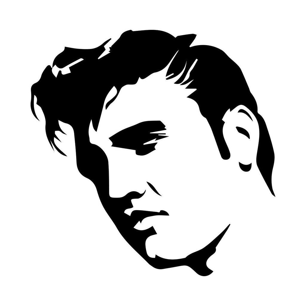 Elvis Presley Large Wall Art Sticker Vinyl Free