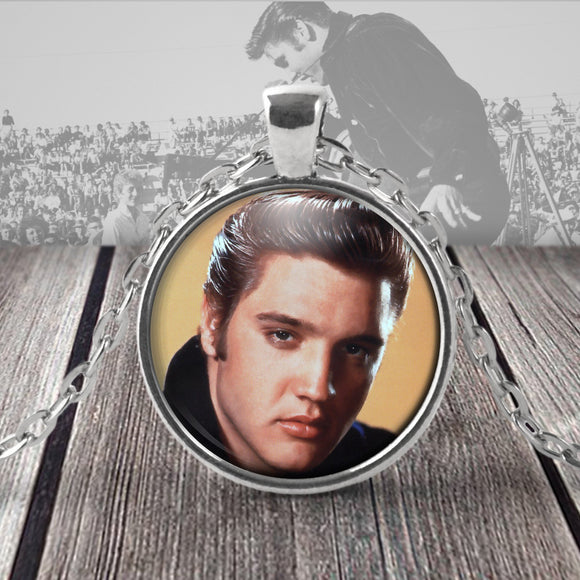 Elvis Presley pendant necklace