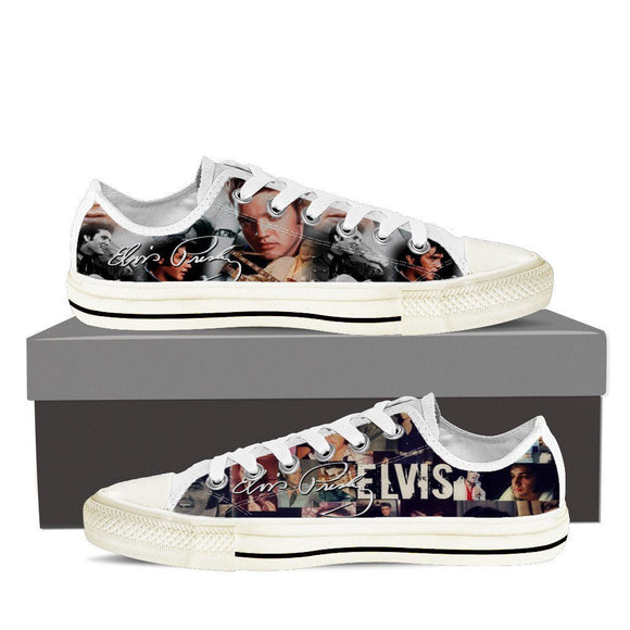Elvis Presley Ladies low cut sneakers
