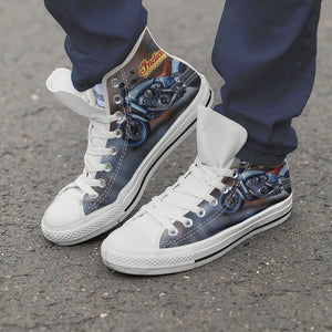 indian motorcycles mens high top sneakers