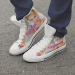 miley cyrus ladies high top sneakers