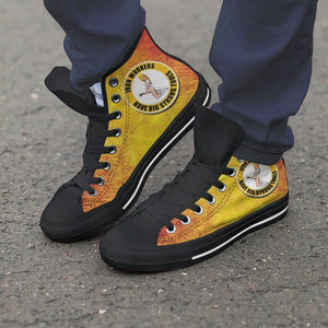 ironworkers strong tools mens high top sneakers