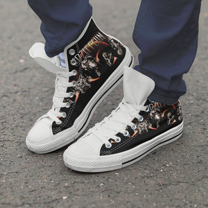 led zeppelin ladies high top sneakers