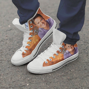 donny osmond mens high top sneakers