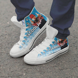ll cool j ladies high top sneakers