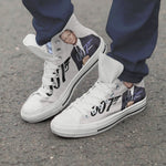 james bond mens high top sneakers
