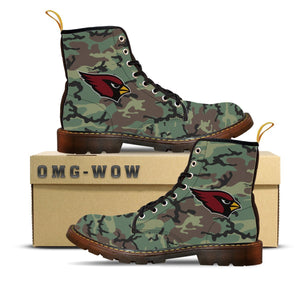 AC Camouflage Canvas Boots