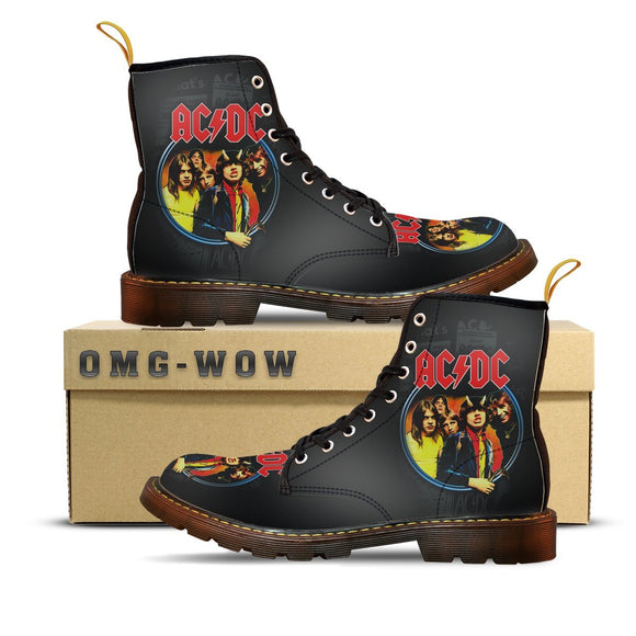 ACDC Canvas Boots