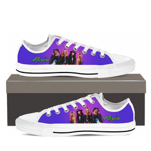 poison new ladies low cut sneakers