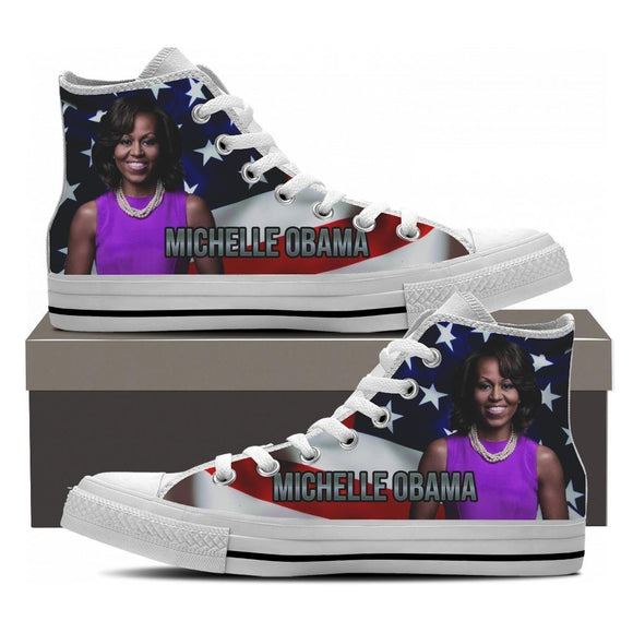 michelle obama mens high top sneakers