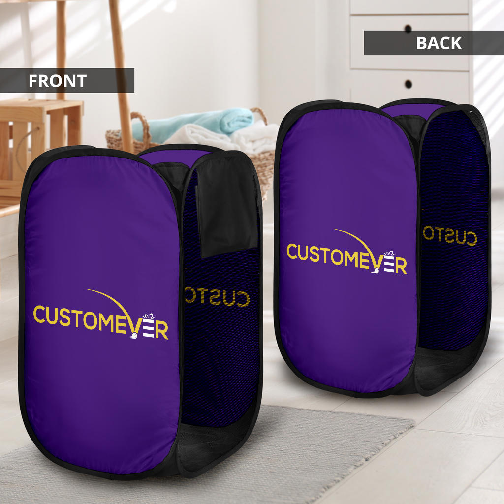 print on demand laundry hamper