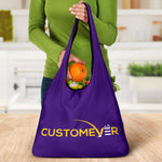 custom all over print grocery bag 3-pack