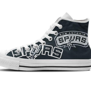 san antonio spurs ladies high top sneakers