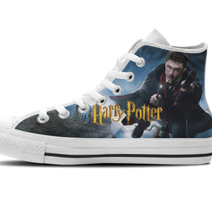 harry potter mens high top sneakers