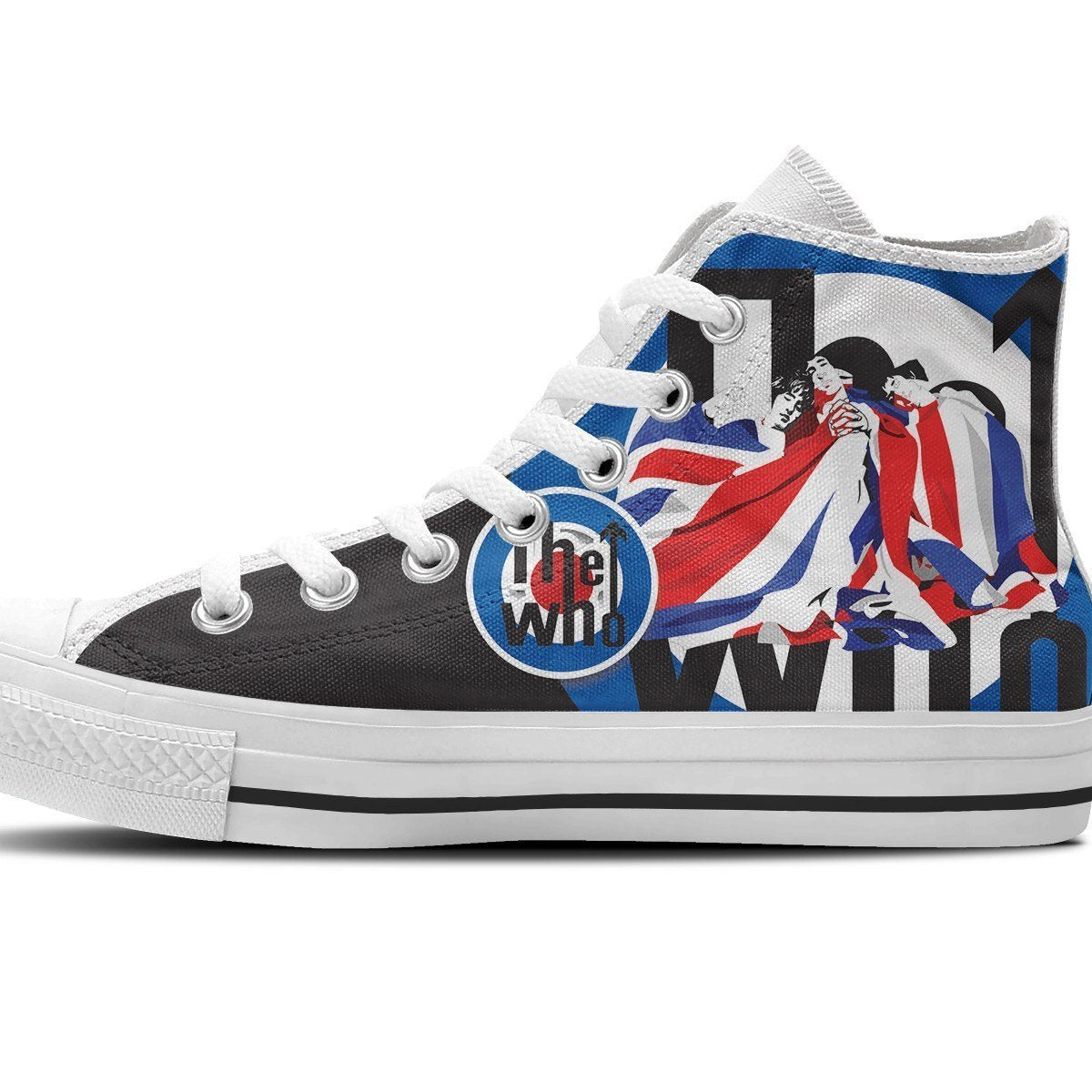 the who mens high top sneakers
