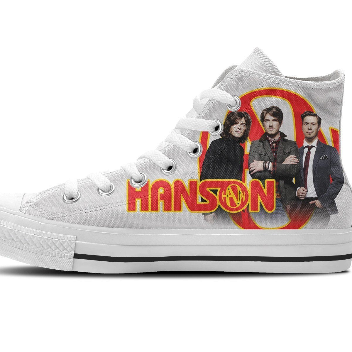hanson mens high top sneakers