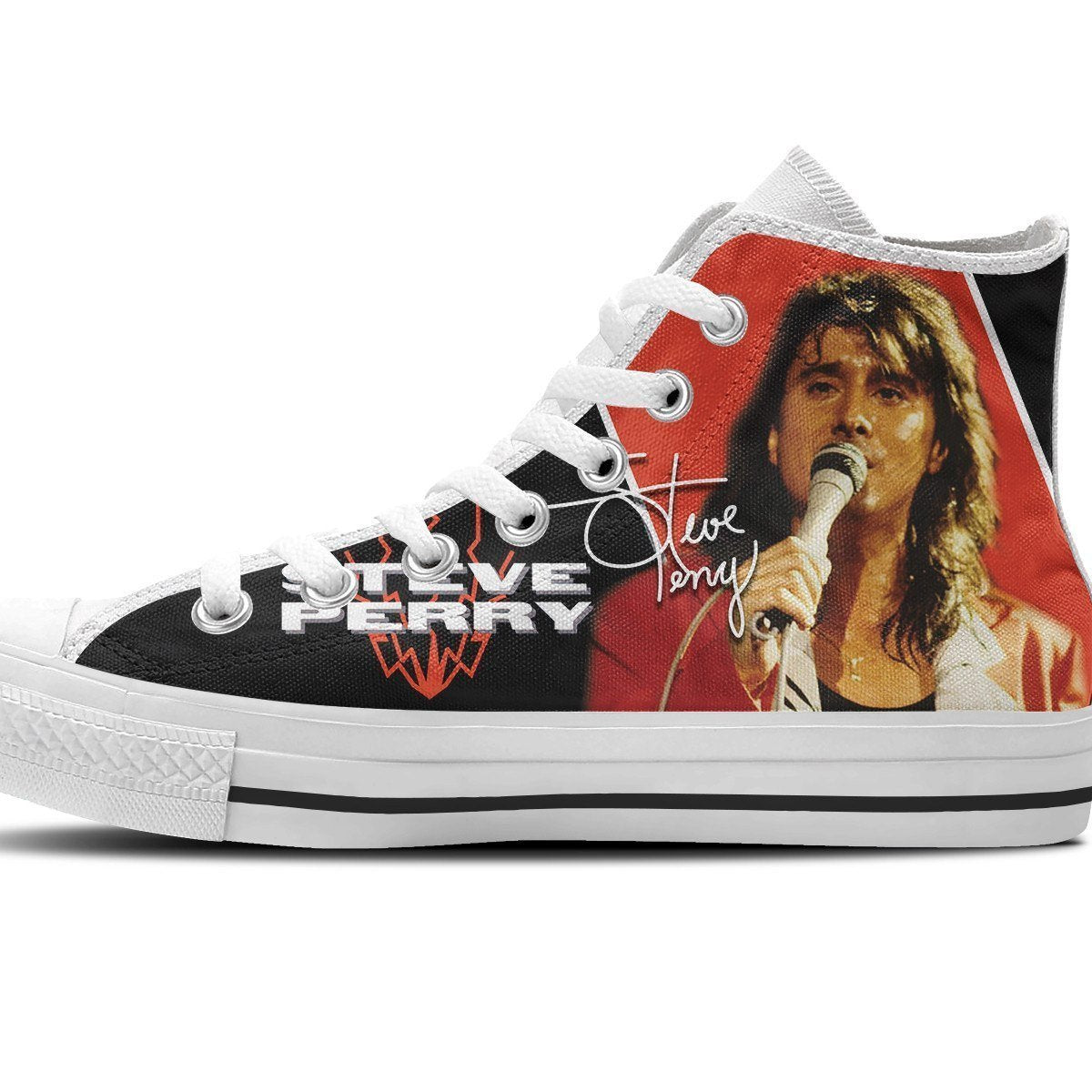 steve perry mens high top sneakers