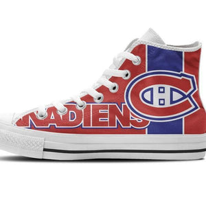montreal canadiens mens high top sneakers high top