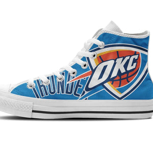 oklahoma city thunder mens high top sneakers high top