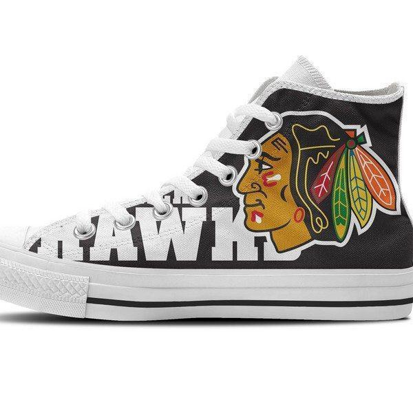 chicago blackhawks mens high top sneakers high top