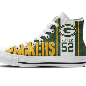 clay matthews mens high top sneakers high top