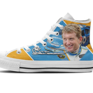 bill elliott new ladies high top sneakers
