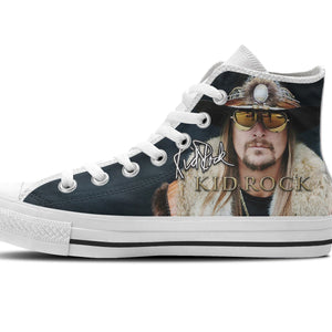 kid rock mens high top sneakers
