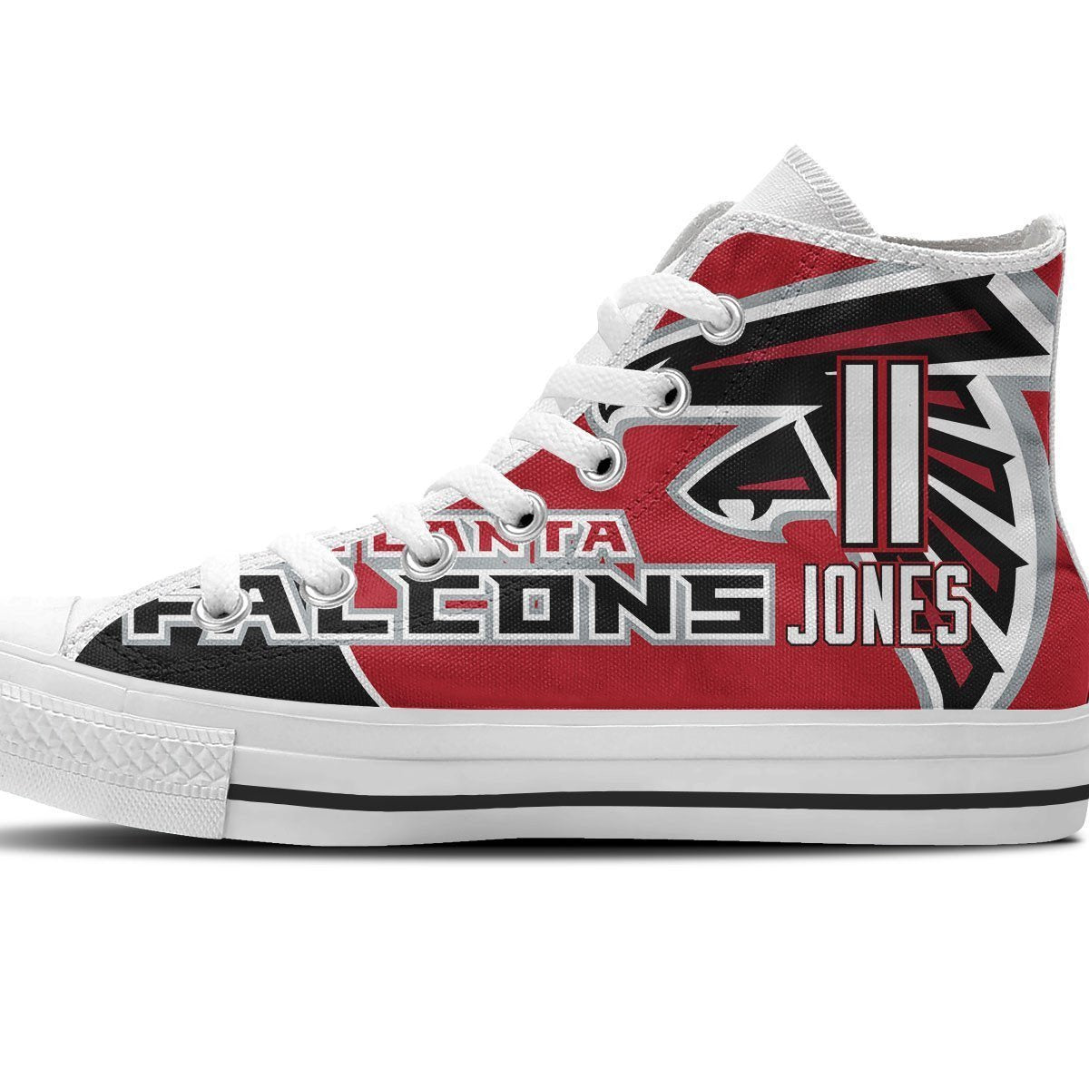 julio jones mens high top sneakers high top