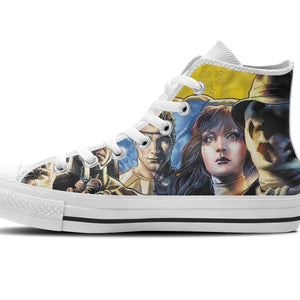 watchmen ladies high top sneakers