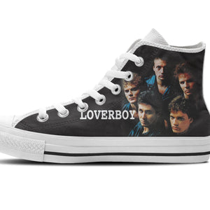 loverboy mens high top sneakers