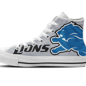 detroit lions ladies high top sneakers