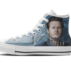 blake shelton ladies high top sneakers