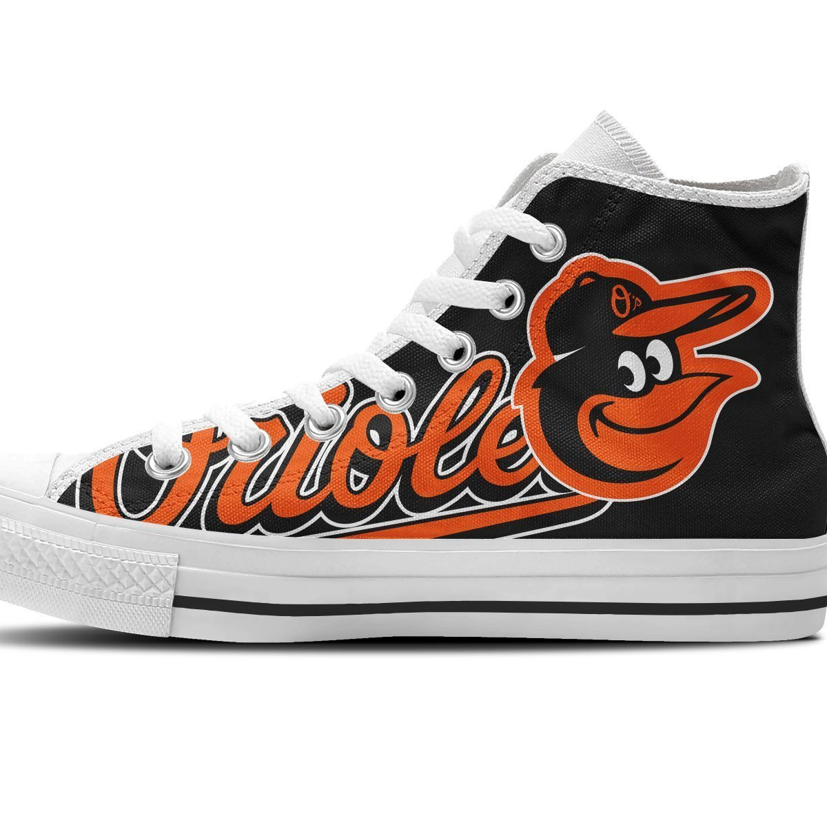 baltimore orioles ladies high top sneakers