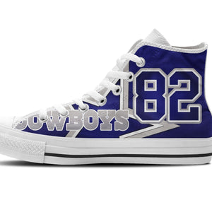 jason witten ladies high top sneakers