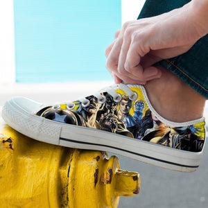 watchmen mens low cut sneakers