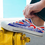 british roots mens low cut sneakers cut