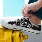 spurs new mens low cut sneakers cut