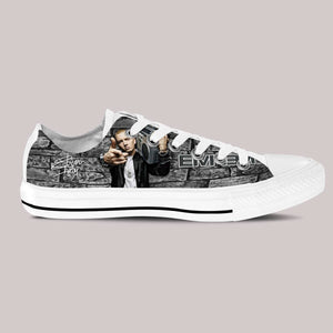 eminem sneaker mens low cut sneakers cut