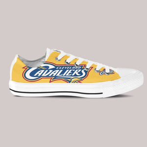 cleveland cavaliers mens low cut sneakers cut