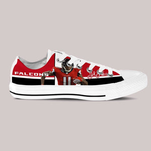 julio jones mens low cut sneakers cut