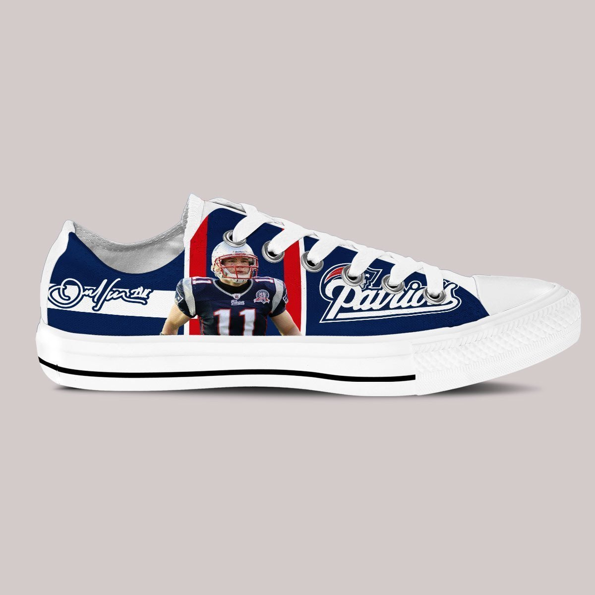 julian edelman ladies low cut sneakers