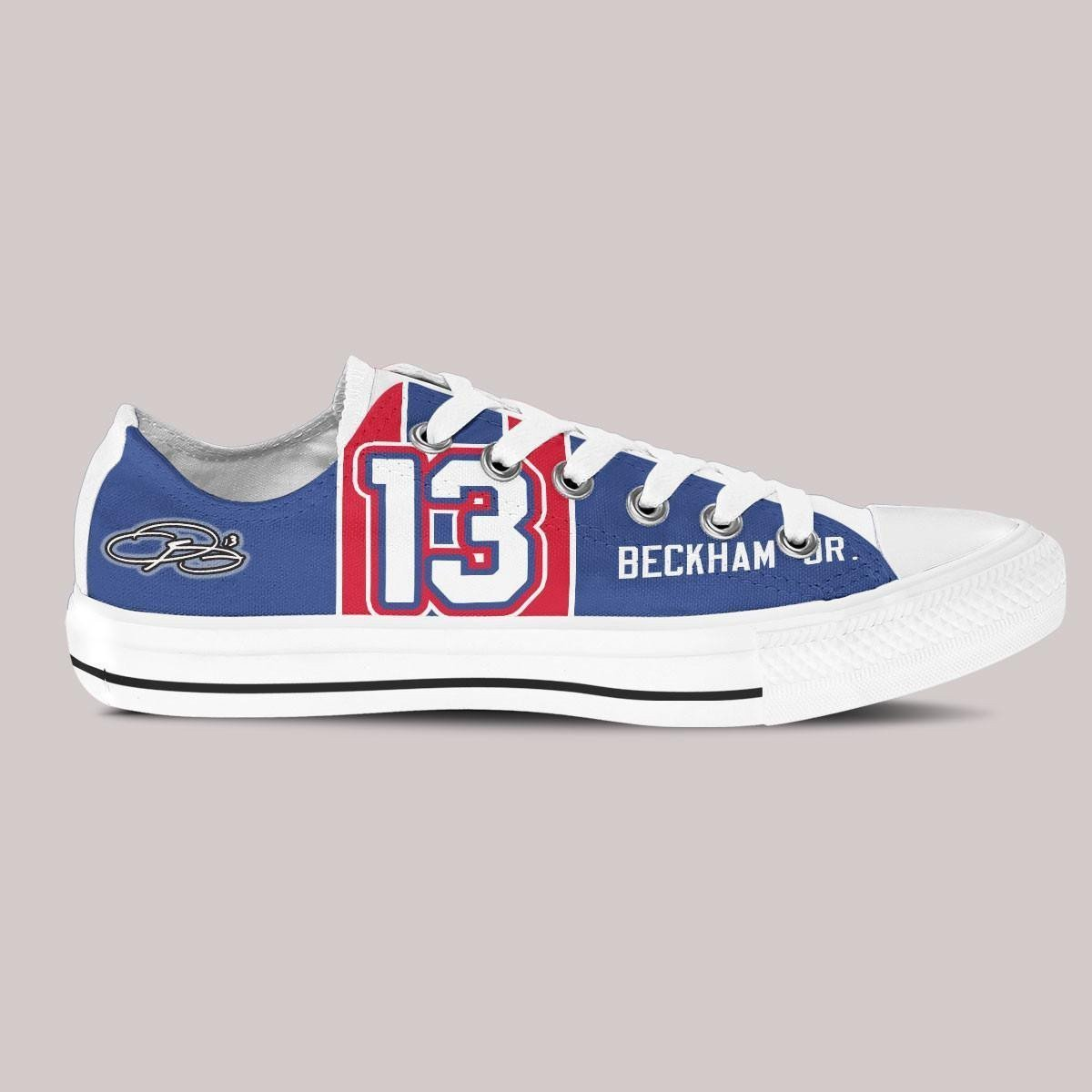 odell beckham jr ladies low cut sneakers