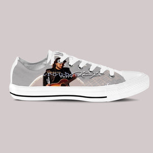 travis tritt ladies low cut sneakers