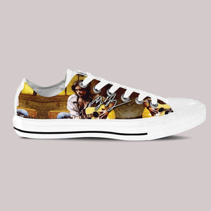 billy ray cyrus mens low cut sneakers
