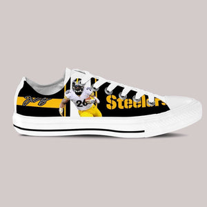 le veon bell ladies low cut sneakers