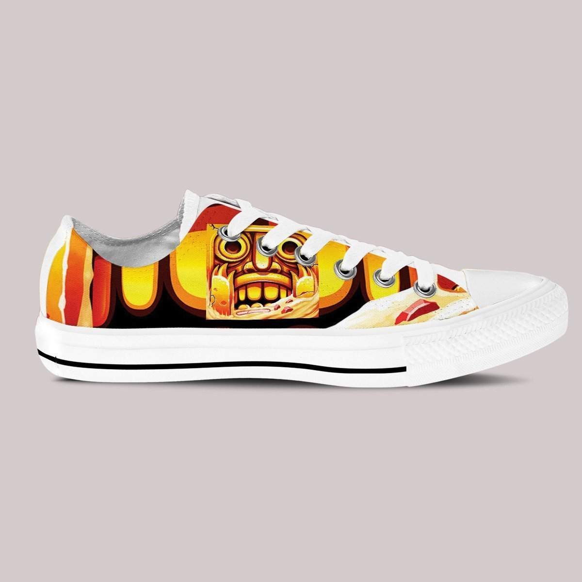 temple run ladies low cut sneakers