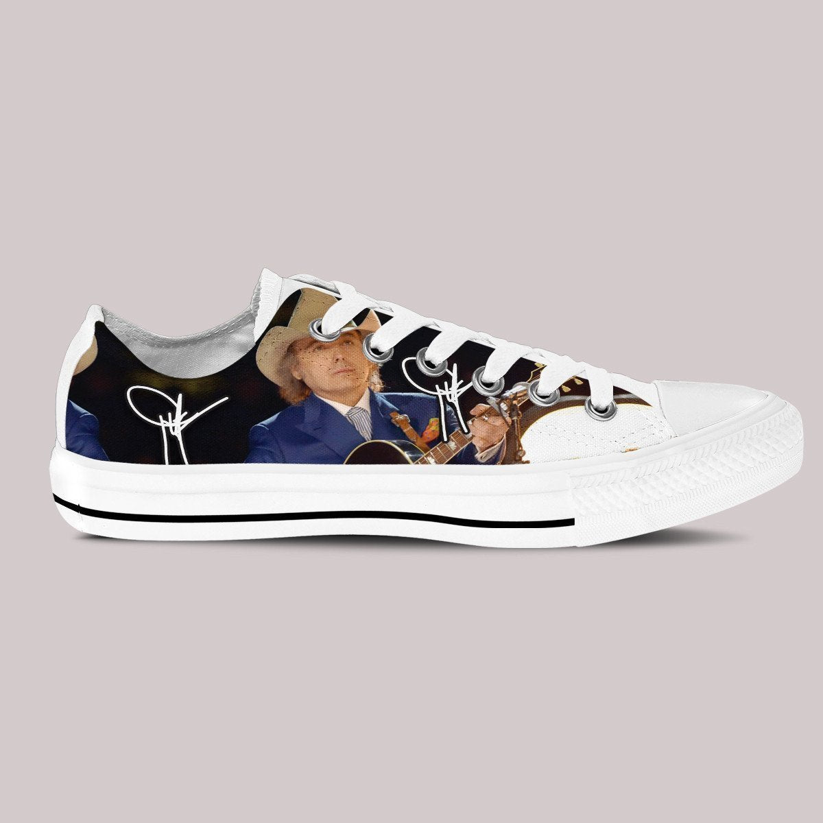 dwight yoakam ladies low cut sneakers