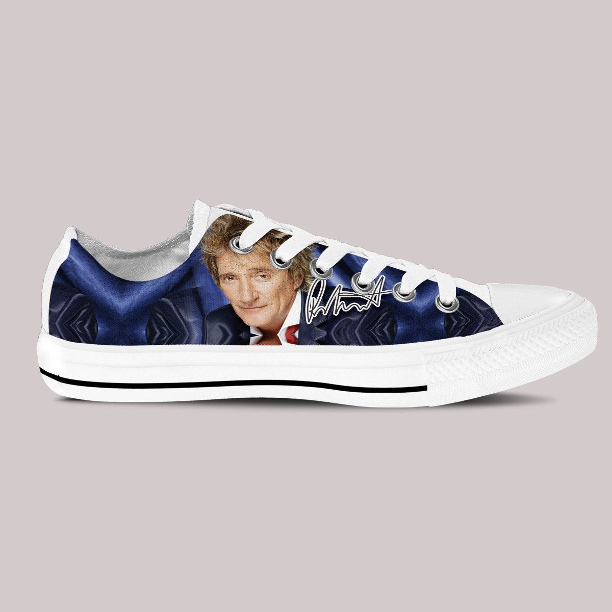 rod stewart ladies low cut sneakers